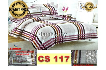 Cadar Patchwork Set 2 IN 1 WE / Bed Sheet VOL 2 [ SUPER SINGLE]
