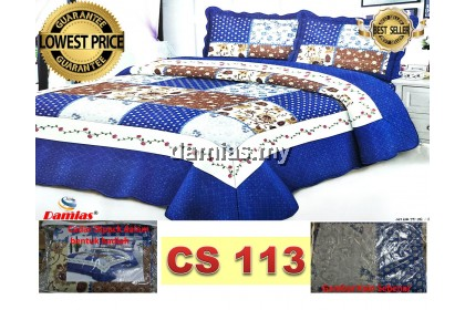 Cadar Patchwork Set 2 IN 1 ss [ SUPER SINGLE]