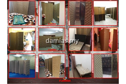 PARTITION, SCREEN DIVIDER, PEMBAHAGI, PENGHADANG ( READY STOCK )