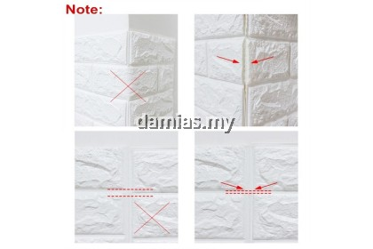 3D Wallpaper DIY Wall Decor Embossed Brick Stone