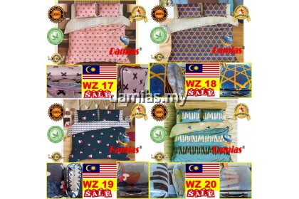 CADAR SET 6IN1 PATCHWORK SUPER QUEEN WZ [ MODERN DESIGN ]
