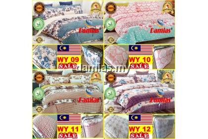 CADAR PATCHWORK 100% COTTON 6IN1 (Rome Damias design)