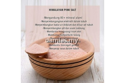 Garam Bukit Himalaya 1000GM / 1KG Rendam Kaki & Badan Body And Foot Soak Salt